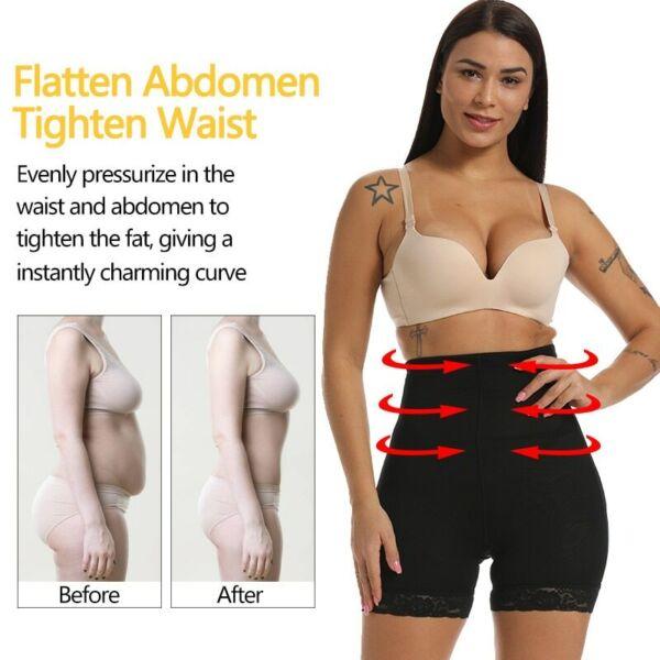 Damen Hot Push Up Po H?schen Slip Unterhose Mieder Pants Butt Lifter Hohe Taille