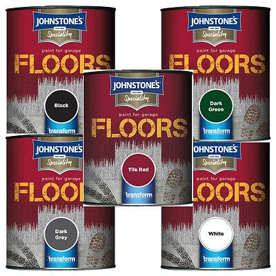 Johnstone S Garage Floor Paint Semi Gloss 250ml 750ml
