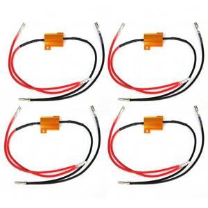 4-X-resistance-pour-clignotant-a-LED-Universel-12V-25W-Moto-Scooter-quad-N1