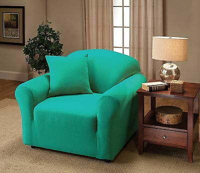 """JERSEY RECLINER COVER----LAZY BOY-----COBALT----/""""STRETCHES/"""" -WASHABLE"""