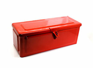 RED TOOL BOX FITS MASSEY FERGUSON 35 35x 130 135 145 148 152 155 168 & OTHERS