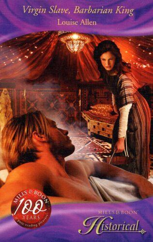 (Very Good)0263862399 Virgin Slave, Barbarian King (Historical Romance),Louise A