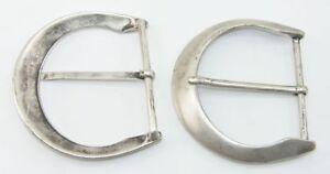 Lederbearbeitung & Accessoires 100% QualitäT 1 Schließe Gürtelschnalle Schnalle 7 Cm Altsilber Rostfrei 08.166/842 SorgfäLtige FäRbeprozesse