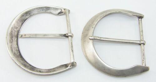 1 Fibbia Cintura Fibbia Fibbia 7 cm altsilber rostfrei 08.166/842