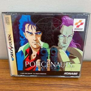 POLICENAUTS-Konami-T-9510G-Sega-Saturn-Japan