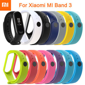 New-For-Xiaomi-mi-band-3-Soft-Silicone-Rubber-Strap-WatchBand-Wristband-Bracelet