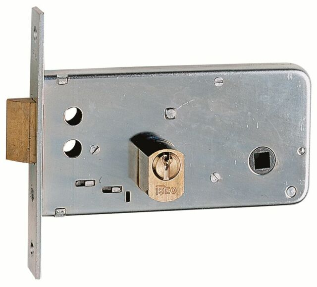 Lock Iseo 725 MM.60 Slip for Bands with Cylinder round H.72 Serramenti