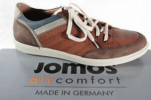 Jomos Da Scarpe 316216 Sneakers Pelle Marrone Aircomfort Nuovo Bassa Lacci Uomo xrtntqI