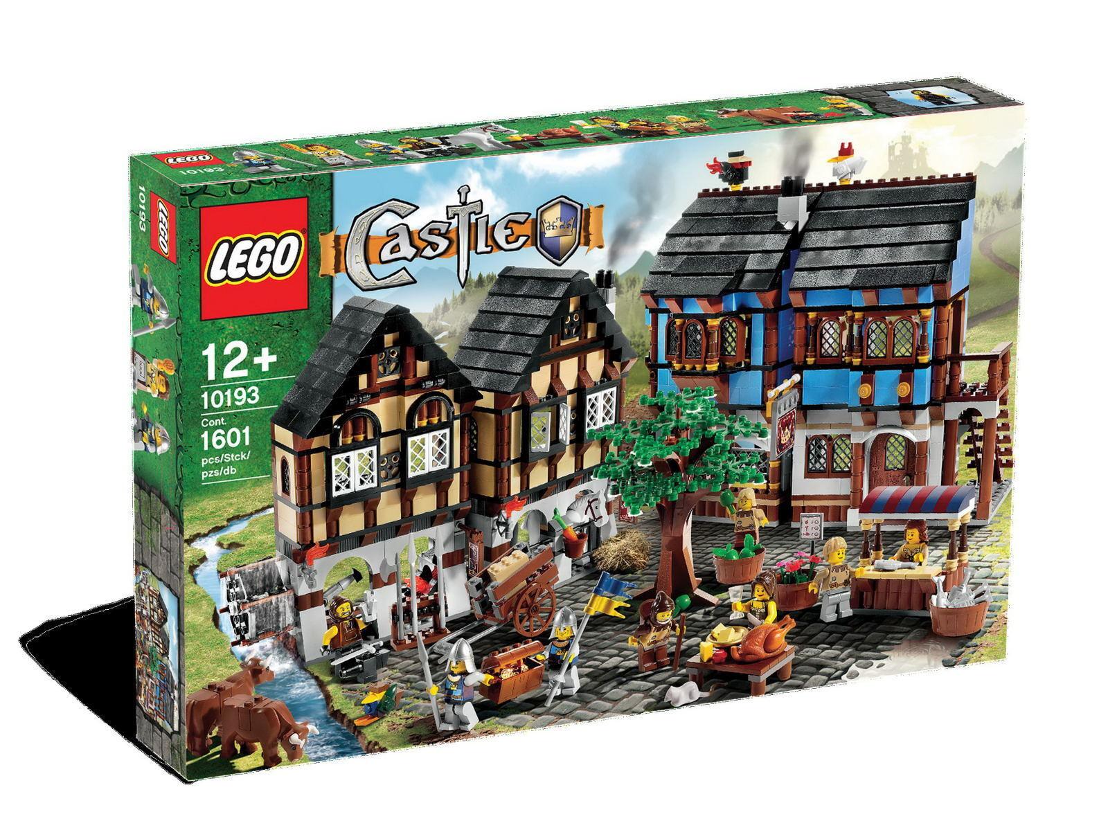 edizione limitata LEGO Castle  Medieval Medieval Medieval Market Village  10193 - retirosso   nuovo, HTF   promozioni di sconto