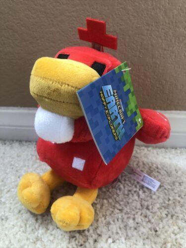 Minecraft Earth Clucksroom HAPPY EXPLORER Plush Stuffed Animal Mojang Chicken