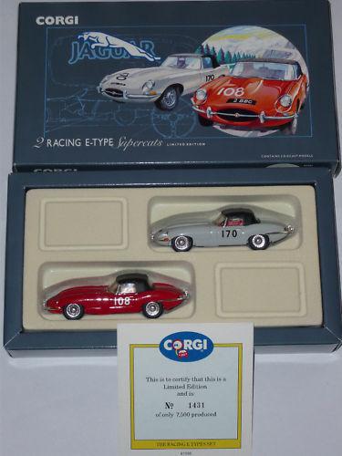 Corgi Jaguar E-Types Ltd Edition no 1431 of 7500 COA