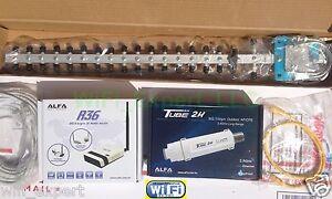 WiFi-Antenna-18dBi-YAGI-ALFA-R36-PoE-TUBE-2H-Outdoor-Boost-GET-FREE-INTERNET
