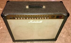 VERY-RARE-VINTAGE-Marshall-JTM-60-2X12-Combo-Guitar-Amplifier-CLASSIC-TUBE-TONE