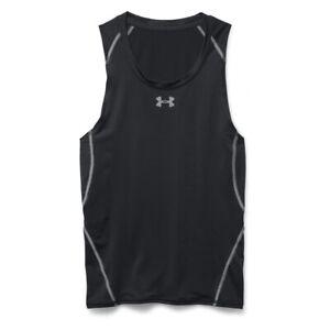 Camiseta-sin-mangas-Under-Armour-Heatgear-Armour-negro-gris