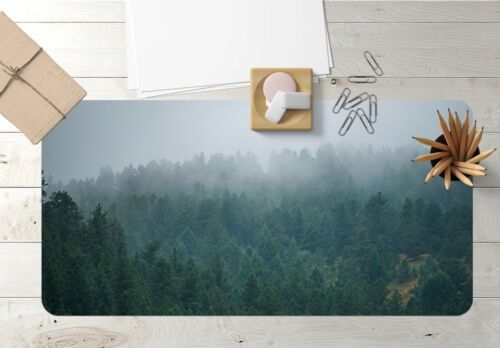 3D Green Forest Mist 83 Nonslip Office Desk Mouse Mat Game Carly