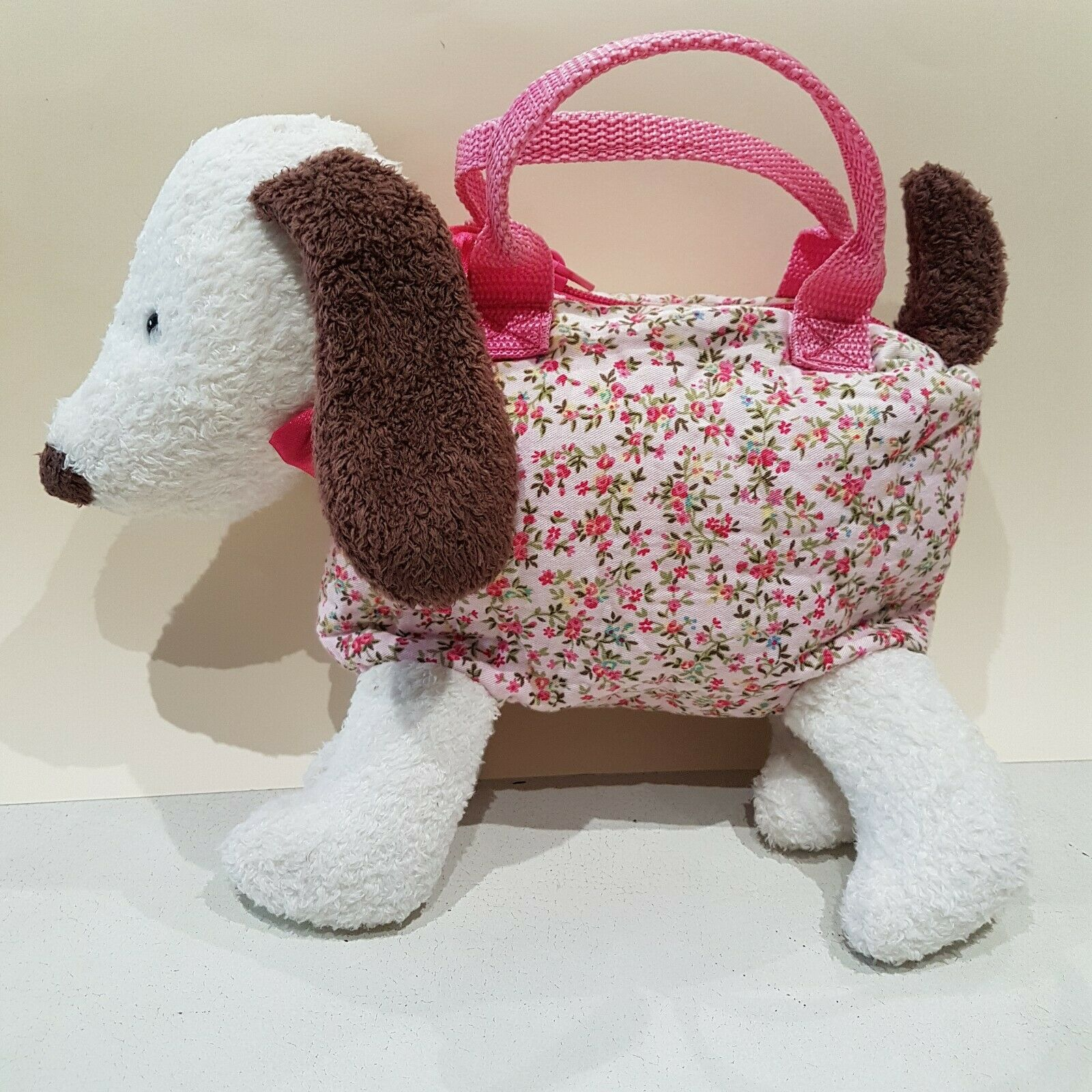 Jellycat Dainty Puppy Dog NEW Bag Retired Collectable RARE Soft Toy Plush