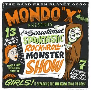 MONDO-X-SENSATIONAL-SPOOKTASTIC-ROCK-TRASH-WAX-RECORDS-VINYLE-NEUF-NEW-VINYL-LP