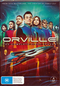 The-Orville-Series-Complete-First-Season-One-1-DVD-NEW-Region-4