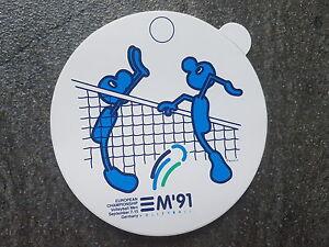Aufkleber Volleyball Europameisterschaften 1991 Germany Herren Rarität! - Dülmen, Deutschland - Aufkleber Volleyball Europameisterschaften 1991 Germany Herren Rarität! - Dülmen, Deutschland