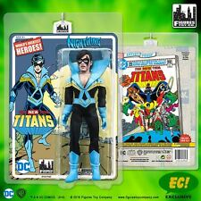 New Teen Titans 8-in Retro Mego-George Perez Artist Edition-4 Figure Set