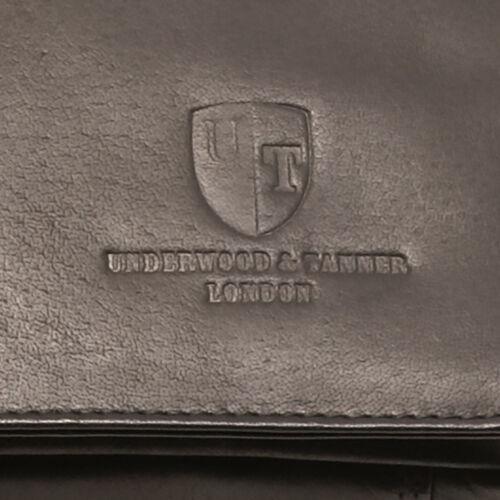 Mike Ledertasche Medium Tanner Shoreditch Underwood Schwarze Tzqx7Pwnt