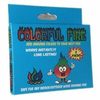 Colorful Fire - Adds Colorful Flames To A Campfire - 24 Packs