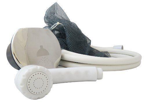 Stiefel Marine Itc Spiegel Flip Top Dusche mit / 8' Nylon Schlauch & Weiß