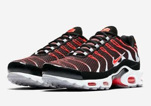 Details about Nike Air Max Plus 'HOT LAVA' NIB 11.5 BlackBright Crimson Wolf Grey 852630 034