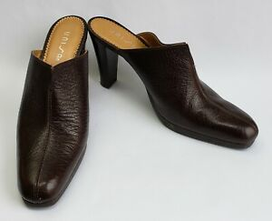 Unisa-Shoes-Heels-Brown-Clogs-Sultana-Womens-Size-9-B