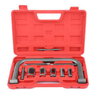 10pcs Car Petrol Engines Valve Spring Compressor Tool Kit Set With Case Us Stock