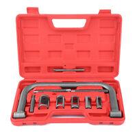 10pcs Car Petrol Engines Valve Spring Compressor Tool Kit Set With Case Us Stock