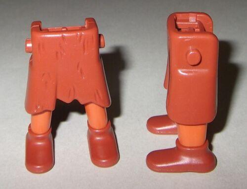 Steinzeit rotbraun 12981 Schuhe Beine Südamerika 2x Kurzer Rock rotbraun