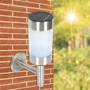 2PCS-Stainless-Steel-Outdoor-Wall-Lights-Garden-LED-Modern-Wall-Lights-UK