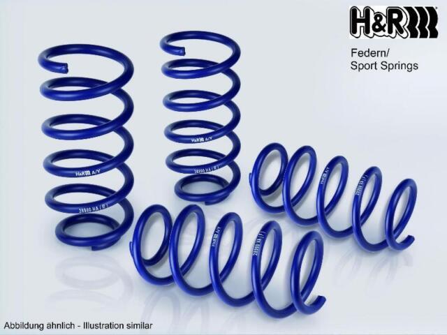 H&R Tieferlegungsfedern Federn 40 mm Honda Accord IV Aerodeck springs 29563-2