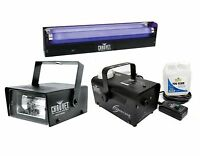 Chauvet Dj Mini Strobe Led Light Effect + H700 Fog Machine + Nvf-18 Black Light on sale