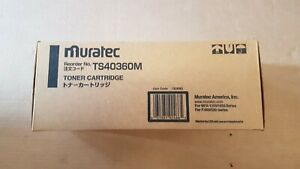 lot-of-5-GENUINE-MURATEC-TS40360M-Toner-Cartridges-Brand-New