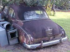 Antique 1949 Chevrolet Car--Restorable- Chevy Automobile Vehicle- 4 Door
