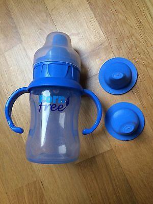 100% Wahr Born Free Trinklernflaschen Blau
