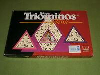 Original TRIOMINOS Classic von Goliath/FX Schmid Triomino/Domino + TANGRAM-Spiel
