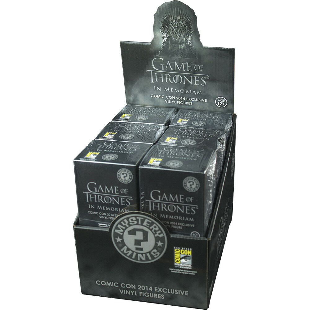 Game of Thrones - Mystery Minis 2014 SDCC Exclusive Vinyl Blind Box (12 Units)