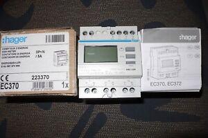 COMPTEUR ELECTRIQUE ACTIF REACTIF TRIPHASE MONO HAGER EC370 mesurer TI 50à 3000A