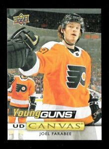 2019-20-Upper-Deck-Series-2-Young-Guns-UD-Canvas-C230-Joel-Farabee-Flyers