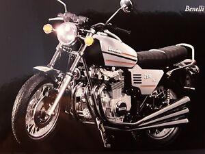 Benelli 750 Sei * Argent 1975 * 1:12 Minichamps 122123001-afficher Le Titre D'origine