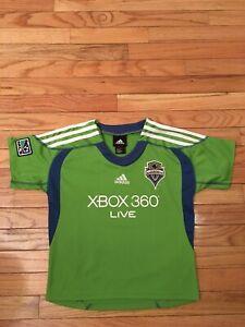 Seattle Sounders MLS Adidas Toddler Soccer Jersey Size 7   eBay