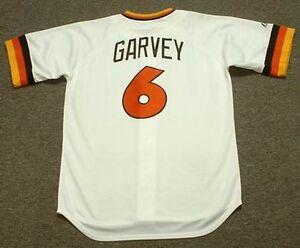 super popular 5848b 5571f Details about STEVE GARVEY San Diego Padres 1984 Majestic Cooperstown Home  Baseball Jersey
