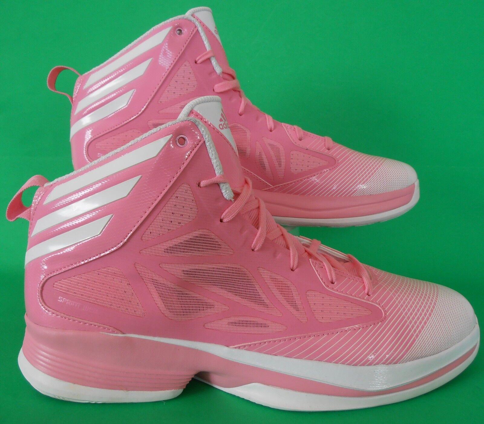 SPECIAL ED~Adidas CRAZY FAST CANCER AWARE Basketball quick Shoe adizero~Men 13.5