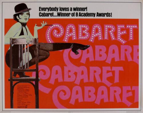 """CABARET"" ..Liza Minelli & Michael York Classic Movie Poster A1 A2 A3 A4Sizes"