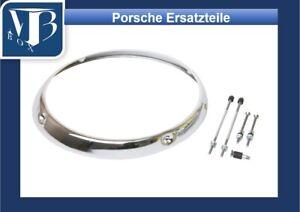 P094-faros-anillo-cromo-para-Porsche-911-912-BJ-039-68-hasta-039-86-calidad-superior