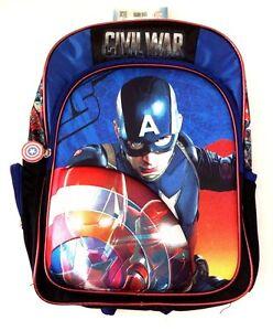Image Is Loading Marvel Comics Civil War Captain America Boy 039