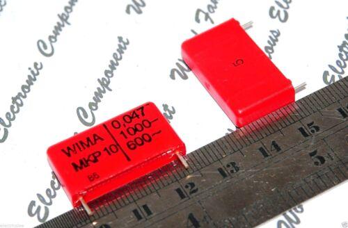 5pcs WIMA MKP10 0.047uF 1000V 5/% 22.5mm Capacitor MKP1O124705B00JSSD 0,047µF